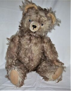 """Antique Jointed Teddy Bear 18"""""""