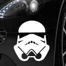 Pegatinas coche 12x10cm blanco-Star Wars Stormtrooper sticker