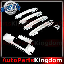 05-15 TOYOTA TACOMA Chrome 4 Door Handle w/KEYHOLE+Tailgate Camera hole Cover