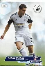 Premier calcio in oro 13/14 Carte Di Base #179 Angel RANGEL