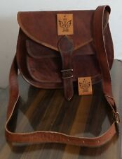 Women Leather Tote Shoulder Handbag Satchel Messenger Shopping Bag Purse 11x9
