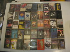 45 original rock music cassette Nirvana Sub Hum ans iron maiden pink floyd lot