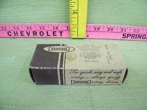 Leviton  Bakelite Duplex Flush Receptacle With T Slots, 15A-125V, No.242 (Brown)