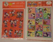 Hallmark Mickey Mouse Reward Stickers x152 12 Sheets Minnie Pluto Donald Nip x2