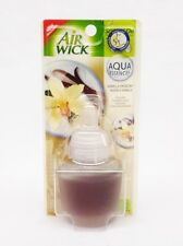 1 Refills Air Wick VANILLA PASSION AirWick Aqua Essences Oil Refill RARE HTF