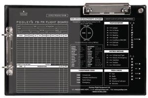Pooleys FB-7R Kneeboard *Ideal for IFR*