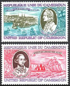 Cameroun C271-C272, MNH Capitaine James Cook, Explorer. Expédié, 1978