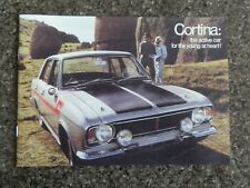 1970 FORD  CORTINA SALES BROCHURE  100% GUARANTEE
