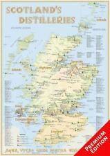 Whisky Distilleries Scotland - Poster 42x60cm - Premium Edit ... 9783944148007