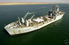 "Royal Navy RFA Sir Galahad UMM Qasr Iraq War 2003 Ship Sea 12x8"" Reprint Photo"