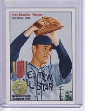 1949 Gene Bearden, US Navy Cleveland Indians rookie Baseball Goes to War WW2 vet