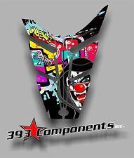 2010 - 2014 POLARIS PRO RMK-RUSH Hood Decal Sticker Graphics Joker Graffiti