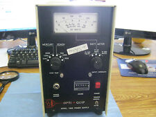 Opti-Quip Model: 1600XT Power Supply< W
