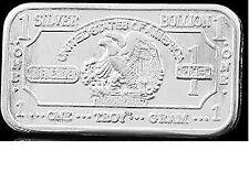 5 Stk. 999 Silberbarren American Silver Silber Walking Eagle ! NEU - Selten !!
