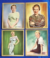 Renate Müller 1935 Bunten Filmbilder Film Star Cigarette Cards Lot of 4