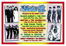 Motown & Soul at The Whisky A Go Go Concert Poster 1967