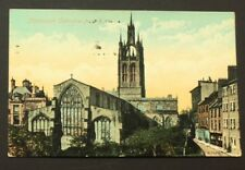 Postcard Newcastle Cathedral from East Valentine's Posted 1501