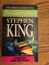 The Green Mile by Stephen King complete 6 part novel paperbacks
