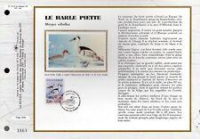 2785/8++ 4 FEUILLETS  CEF SUR SOIE 1er JOUR 1993 ESPECES PROTEGES DE CANARDS