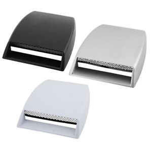 Universal Car SUV Roof Decorate 3D Air Flow Intake Hood Scoop Vent Bonnet Cover