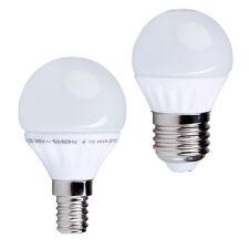 E14, E27 LED-Lampe 3W 6W 8W Kugel warmweiß Tropfenlampe