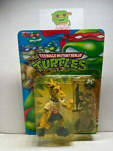 *Yellowing* TMNT Ninja Turtles Halfcourt 1992 Playmates Action Figure