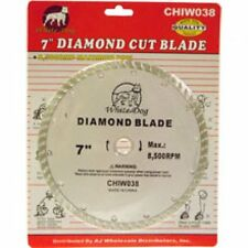 """7"""" Diamond Blade Wet / Dry Turbo for Circular, or Wet Tile Saw Tools"""