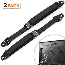 Safety Baby Metal Furniture / TV Straps,Bolts & Hardware Included (2 Pack)