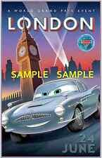 "Disney - Pixar - Cars (11"" x 17"") Collector's Poster Print ( T9 ) - B2G1F"
