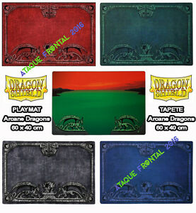 PLAYMAT ARCANE DRAGONS / TAPETE 60 X 40 CM CARTAS MAGIC, YUGIOH - ELIGE TU COLOR