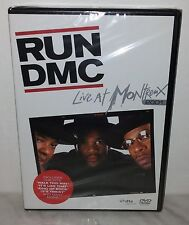 DVD RUN DMC - LIVE AT MONTREUX 2001 - NUOVO NEW