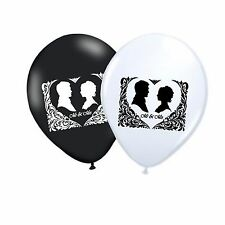 "Mr & Mrs 10"" Wedding Engagement Latex Party Decor Balloons Assorted pack of 100"