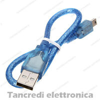 Cavo da USB 2.0 Femmina A MINI Maschio B 5pin Cavetto per PSP Dati PC Hard Disk
