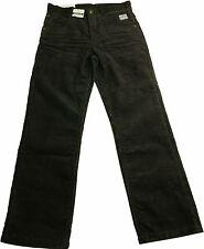 TOM TAILOR pantalon en velours côtelé automne hiver marron foncé Jonas taille
