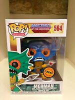 MERMAN BLUE SKIN CHASE FUNKO POP HE-MAN MASTERS OF THE UNIVERSE #564 TELEVISION