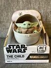 The Mandalorian Baby Yoda Star Wars The Child Radio Remote Control Pram Pod *NIB
