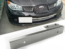 Gunmetal Offset Bumper License Plate Mounting Bracket Plate for Car SUV Truck