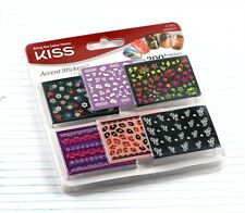 New, Sealed, Kiss Accent Stickers, Nail Art, 731509513516 51351 KNAK01