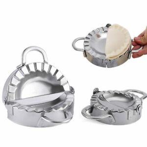 Set Edelstahl Teig Presse Maker Knödel Pie Ravioli Form Ravioliformer Dumpling 2