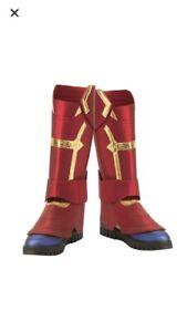 Captain MarvelDiamond Cosplay Costume Boots!  Size 11