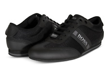 HUGO BOSS Lighter_Lowp_mxme Men's Shoes in Black 50370438 001