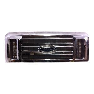 NEW OEM 2008-2019 Ford E-250, E-350, E-450 Econoline XLT Chrome Plated Grille