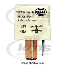 New Genuine HELLA Glow Heater Plug System Relay 4RA 007 507-021 Top German Quali
