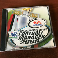 FA Premier League Football Manager 200 by Electronic Arts PC Game Super Rare OOP