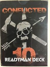 Conflicted: The Survival Card Game - DECK #10 - READYMAN DECK  - Free Shipping!