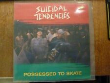"SUICIDAL TENDENCIES ""Possessed To Skate"" 12"" MAXI VINYL LP UK Virgin 3 Track"