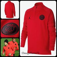 Nike PSG Paris Saint Germain, Dry Squad Football Warm Up Drill Top Boys XL 13-15