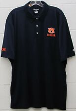 Auburn Tigers Mens Polo Golf Shirt Champion Embroidered NCAA Navy X-Large XL New