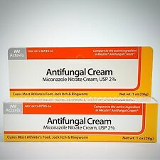Miconazole Nitrate 2% Antifungal Cream (Compare to Micatin) by Actavis - 28gm