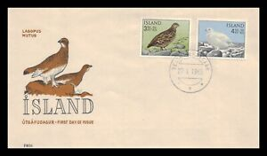 Iceland 1965 FDC, Ptarmigan. Lot # 4.